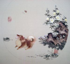 中国民间顾绣非物质文化遗产16--美术攻略多由之轨迹那图片