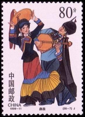 我国56个少数民族的风俗习惯和服饰图片