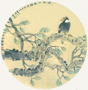 写意花鸟画的构图