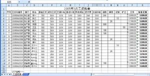 Excel做到批量列印薪水條