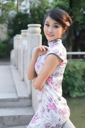 【人像摄影】貌若天仙的旗袍美女