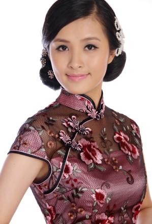 【人像摄影】中国旗袍美女 大图