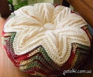"""转自外网----美丽的抱枕""""花开瞬间"""""""